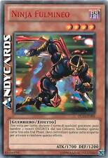 Ninja Fulmineo ☻ Promo Rara Rossa ☻ DL13 IT005 ☻ YUGIOH ANDYCARDS