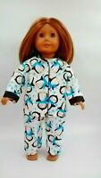 Penguin Pajamas PJs fits American Girl Dolls 18 inch Doll Clothes