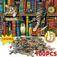 Puzzle 1000 Pieces Jigsaw Puzzles For Adult Cat on Toy Educational HOT