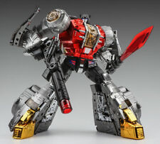 IN STOCK!!Transformers Gigapower GP HQ-04R Dinobots Sludge Chrome VERSION