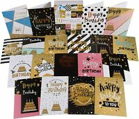 20 x Multipack Birthday Cards | Mixed Value Pack with Envelopes | UK SELLER