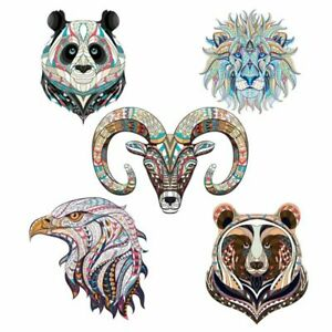 3D Puzzle Toys Wooden Jigsaw Puzzles For Adults DIY Crafts Animal Shape Pieces