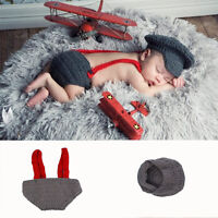 Fit 0-24 Months Kids Newborn Clothing Accessories Baby Knitted Photography Hat