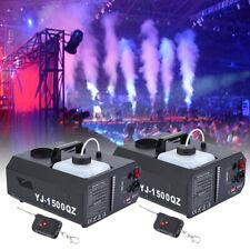 2* 1500W Nebelmaschine DMX Bühnenlicht Upspray Fogger Wireless Bühnenlicht Stage