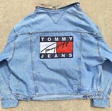 Vintage Tommy Hilfiger Big Flag Denim Jacket