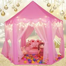 Princess Castle Play House, Large Indoor/Outdoor Kids Play Tent for Girls Pink !
