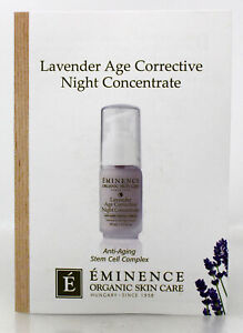 Eminence Lavender Age Corrective Night Concentrate Sample Size