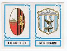 figurina CALCIATORI PANINI 1982/83 NEW numero 570 LUCCHESE MONTECATINI