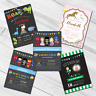 Personalised Childrens Birthday Party Invitations | Kids Boys or Girls Invites