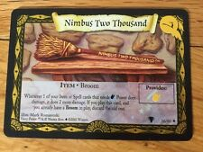 Harry Potter Trading Card Game Shiny Foil Card Nimbus Two Thousand 2000 Broom