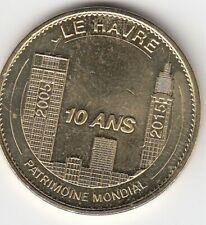 76 - Le Havre - Patrimoine Mondial - 10 ans - 2015