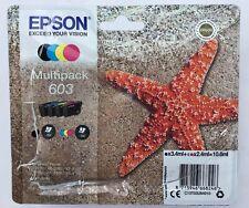 CARTOUCHE ENCRE EPSON 603 MULTIPACK (X4) ORIGINAL NEUVES INK CATRIDGE EPSON