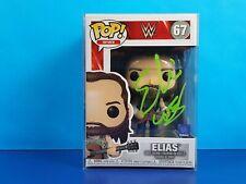 Elias Signed Funko Pop Vinyl Figure WWE Autograph JSA COA