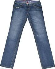 Distressed Esprit L32 Damen-Jeans mit geradem Bein