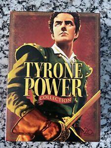 Tyrone Power - Swashbuckler Boxset DVD, 2007, 5-Disc Set PLUS BONUS DVDs