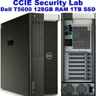 Cisco CCIE Security Virtual Lab INE Dell T5600 128GB RAM 1TB SSD ACS ISE FTD FMC