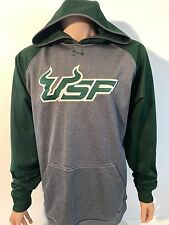 NEW South Florida Bulls USF Under Armour Stitched Sweatshirt Hoodie Men's Large