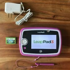 LeapFrog LeapPad 3 Lot - Tablet with Stylus, Octonauts Game & Charging Cord