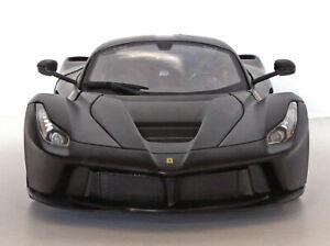 Bburago LaFerrari F70 Coupe (Signature Series)-Matte Black 1:18 Die Cast-No Box
