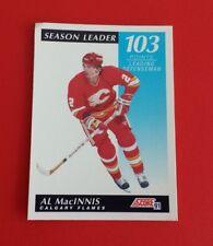 1991/92 Score Hockey Canadian Al MacInnis Card #103***Calgary Flames***