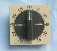 Kienzle Germany Signal Mechanical Timer - Beige / Brown