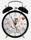 """Stephen Curry Alarm Desk Clock 3.75"""" Home or Office Decor E479 Nice For Gift"""