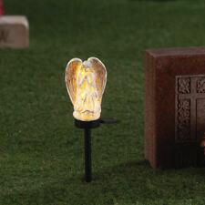 Angel Solar Light Stake Memorial Praying Solar Outdoor Decor Garden