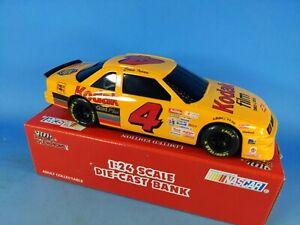 Racing Champions NASCAR #4 Kodak Ernie Irvan 1:24 Locking Coin Bank