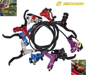 ZOOM Road MTB Bike Hydraulic Disc Brakes levers Calipers Front Rear Brake Lever