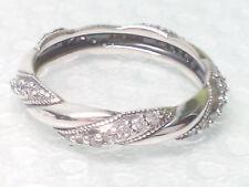 NEW AUTHENTIC Pandora Ribbon of Love CZ Ring 190981CZ