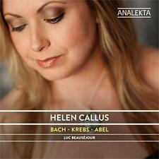 Helen Callus And Luc Beausejour - Bach; Krebs; Abel: Fathers & Sons: Co (NEW CD)