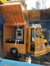 "APE PIAGGIO 50 STREET FOOD ""PIZZA"""" 1:18 New Ray Moto Die Cast Modellino"