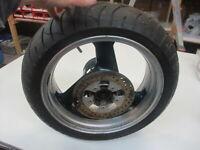 3. KAWASAKI ZXR 750 H Stinger Felge hinten 5,50 x17 Zoll Hinterrad Reifen 4,3 mm
