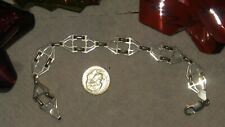 Sterling Silver Art Deco Bracelet Marked Ms66 Sterling (Sixtar Corp Mexico)
