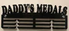 Thick Acrylic Triple Tier 5mm DADDY'S MEDALS Medal Hanger / Rack