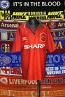 4/5 Manchester United boys youth Y #7 Miller 1994 football shirt jersey trikot