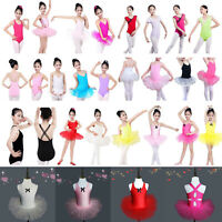 Kids Lovely Sweet Ballet Tutu Dress Girls Princess Dancewear Leotards Jumpsuit
