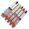 Refillable Refill Edible Ink Cartridges 570/571 Canon Printer MG5750 MG5751 XL
