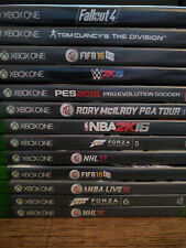 Assortment of Lightly - Heavily Used Xbox One Games