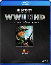 WWII Lost Films - WWII In HD  Ultimate Ed (Blu-ray, 2012, 4-Disc Set) Region B