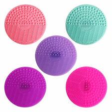 Silicone Trucco Brush Pennelli Pulizia Cleaner Pad Lavaggio Scrubber Strumento