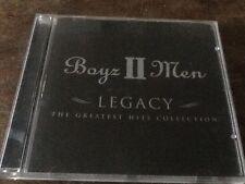 BOYZ II MEN - GREATEST HITS - CD - END OF THE ROAD / I'LL MAKE LOVE TO YOU +