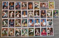 1991 CHICAGO WHITE SOX Topps COMPLETE Baseball Team Set 33 Cards FISKx3 THIGPEN!