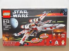 LEGO Star Wars X-Wing Fighter 6212 Han Leia Chewbacca Luke R2 Wedge New Sealed!