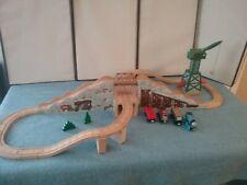 Thomas Wooden Railway Gold Mine Mountain Set New Exclusive Rare Nicest set