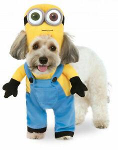 "Despicable Me Pet Costume Walking Minion ""Bob"" Dog/ Cat Costume XL"
