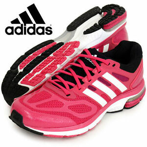 adidas supernova sequence 6 womens running shoes WHITE/PINK/BLACK  D 66760