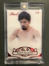 Manny Pacquaio 2019 Leaf Pearl Boxing Card #1/8 TatD