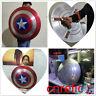 Captain-1:1 America-Shield-Full-Aluminum-Metal-Shield-Cosplay-Unpainted-Painted
