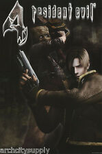POSTER:MOVIE REPRO : RESIDENT EVIL 4 - MASK -   FREE SHIPPING    #3455    LP40 X